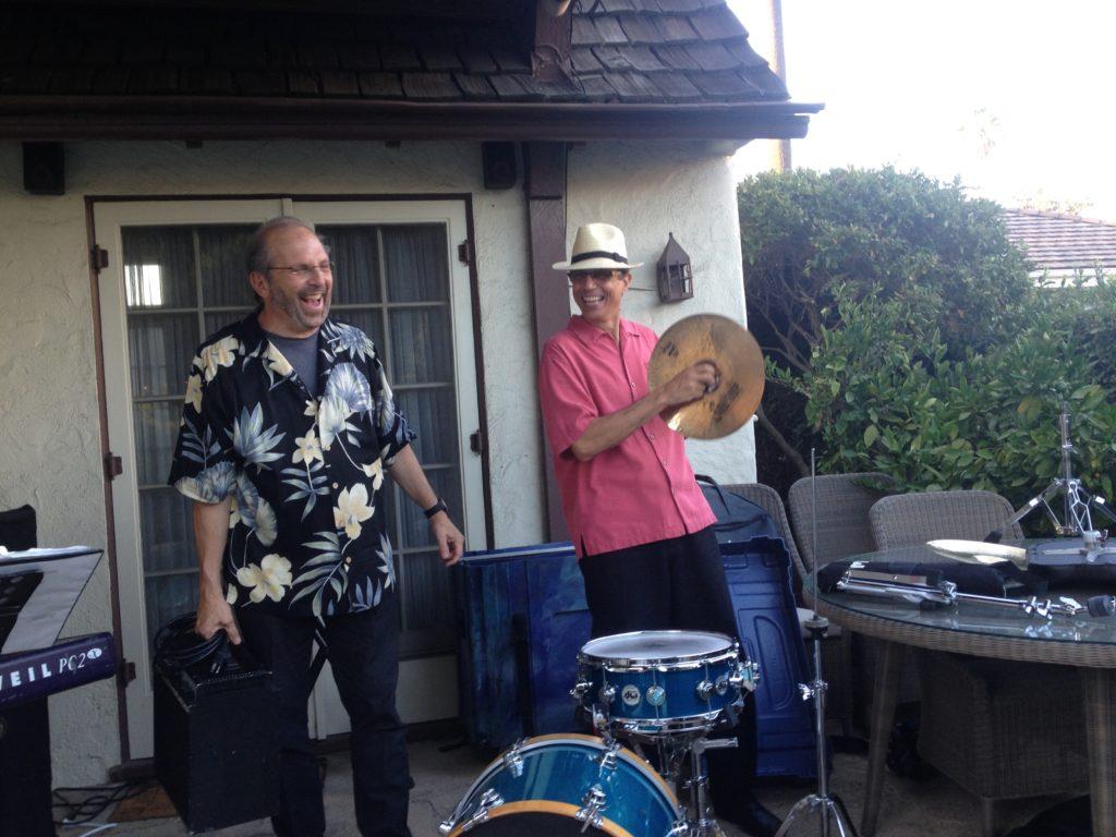 Adrian Rosen String Bass & Tommy Mendola Drums