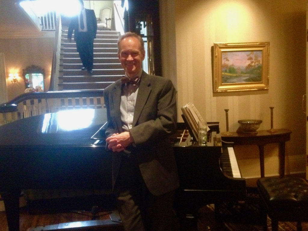 Los Angeles Pianist Eric Zimmermann Elegant Music Valley Hunt Club