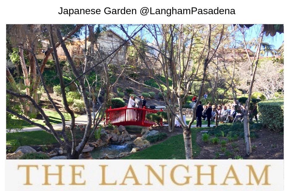 Elegant Music Quartet at the Langham Japanese Garden Pasadena