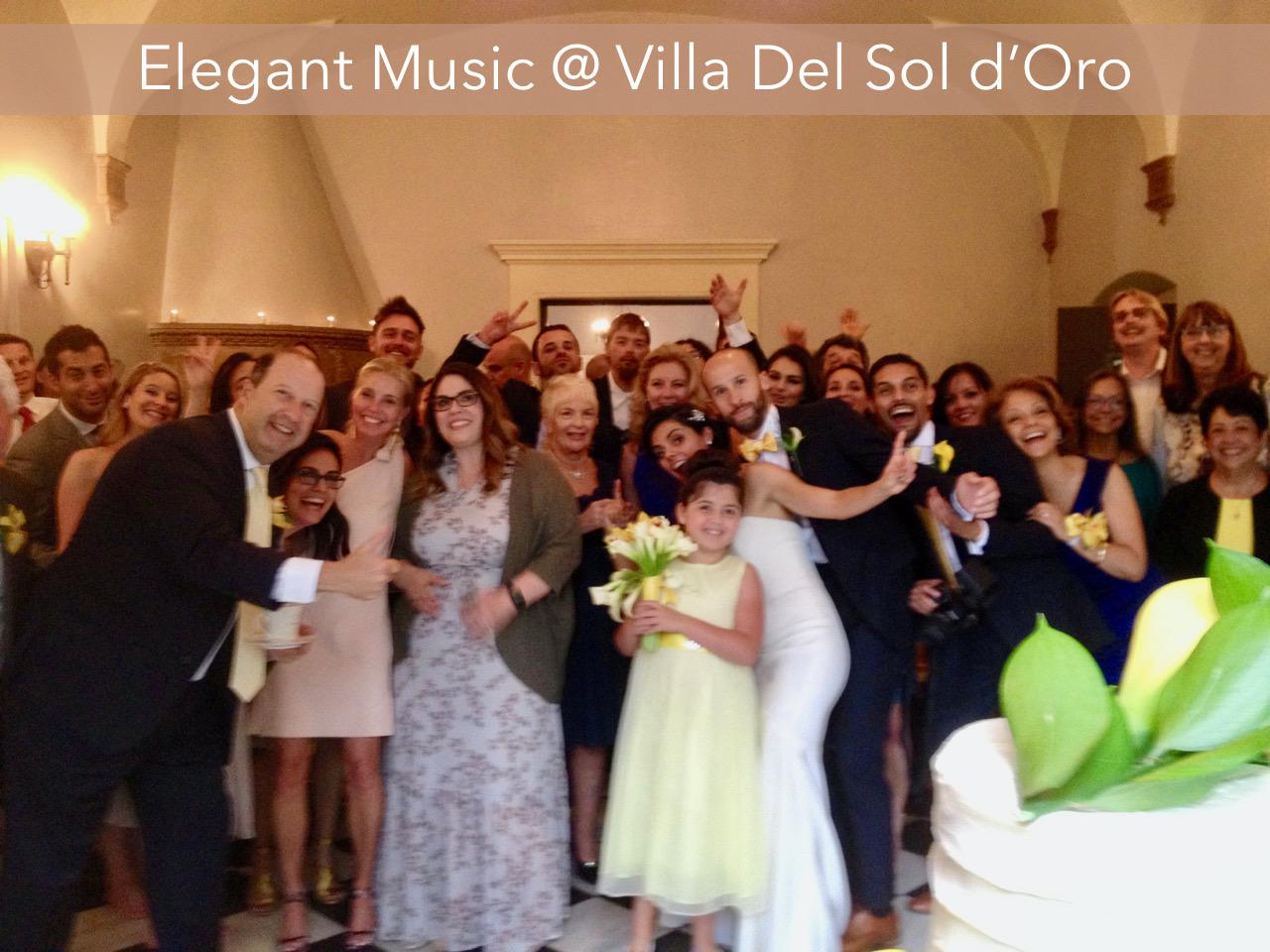 Wedding Reception Villa del Sol d'Oro