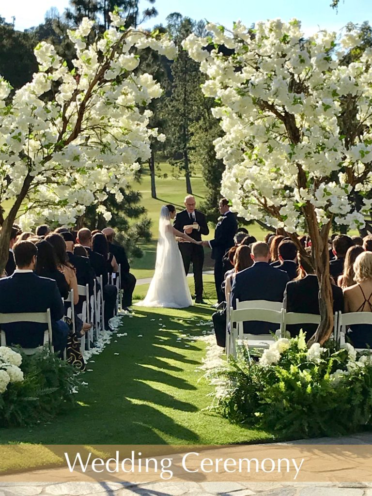 Wedding Ceremony at Annandale Country Club