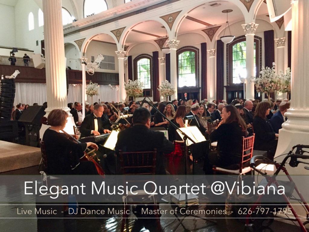 Elegant Music Quartet @Vibiana