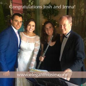 Congratulations Josh & Jenna @JulienneSanMarino
