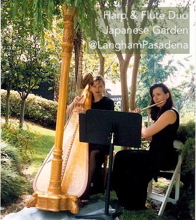 @langhampasadena #Harp #Flute #elegantmusic