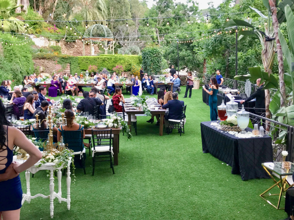 Houdini Estate Wedding Reception