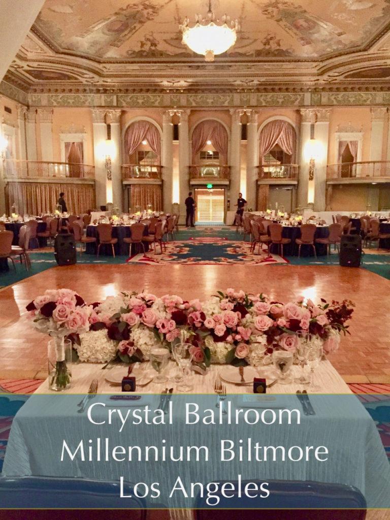 Crystal Ballroom Millennium Biltmore