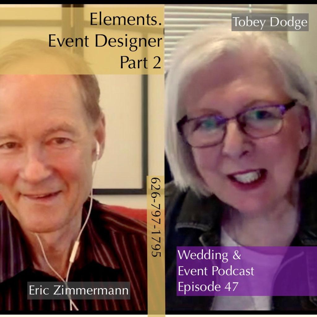 wedding & event podcast episode 47 Elements