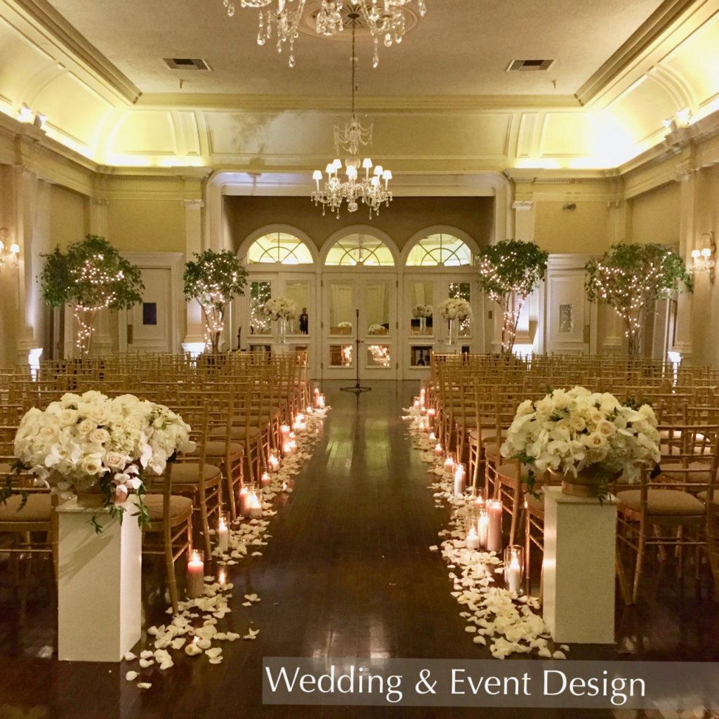 Wedding Ceremony Design Pasadena