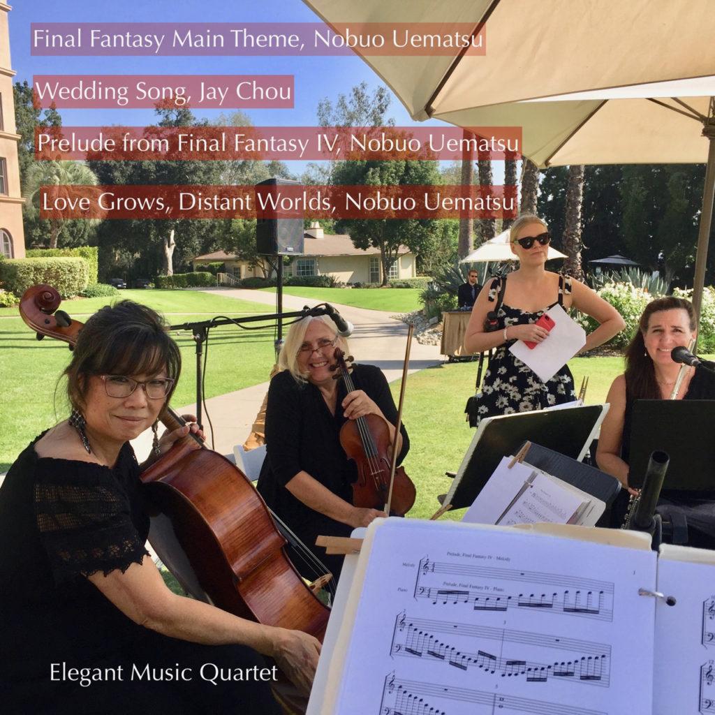 Elegant Music Quartet @LanghamPasadena