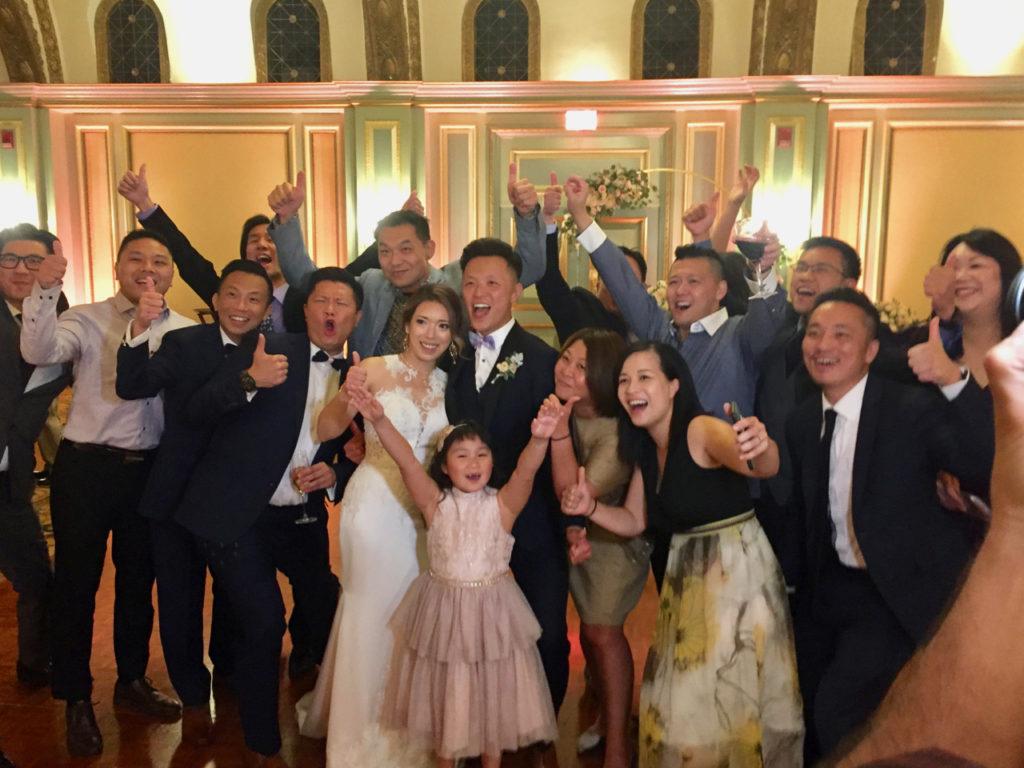 Wedding Reception Viennese Ballroom Langham Pasadena