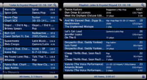 Wedding DJ Dance Music Play List