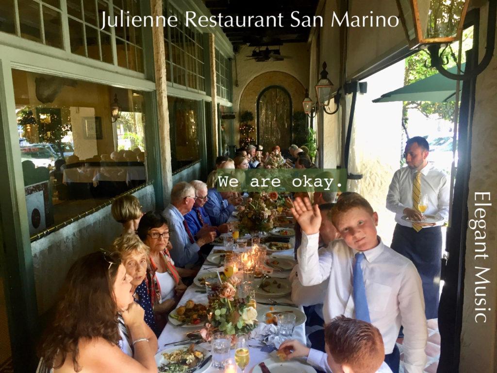 Wedding Reception @ Julienne Restaurant Elegant Music