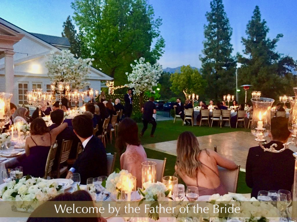 Wedding Reception Annandale Country Club Pasadena, CA