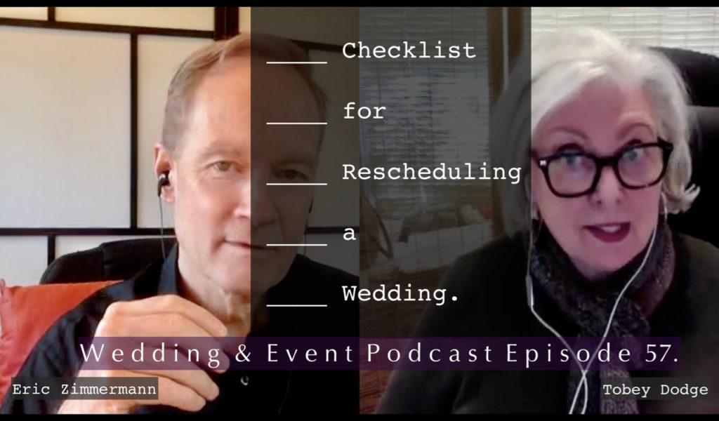 Download PDF Checklist for Rescheduling a Wedding