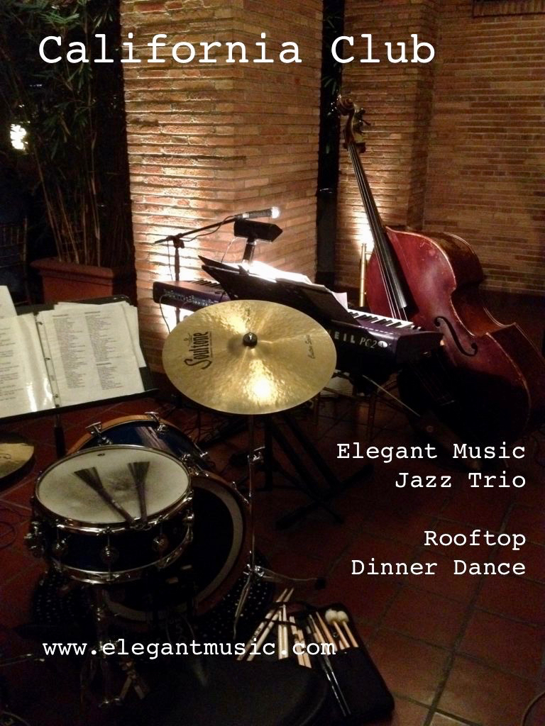 Elegant Music Jazz Trio