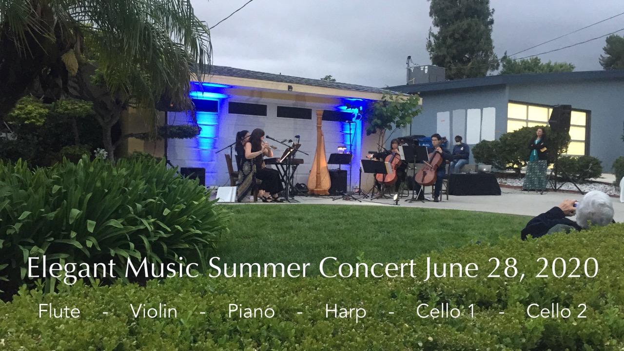 Elegant Music Summer Concert 2020