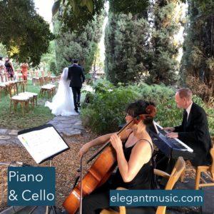 Cello & Piano by Elegant Music @ Villa del Sol d'Oro