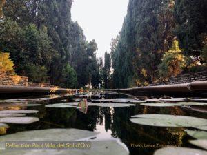 Reflection Pool Villa del Sol d'Oro