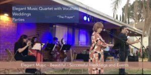 The Prayer, Artur Hakobyan & Sisu Raiken Elegant Music Quartet